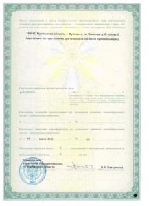 Лицензия на деятельность стр. 2