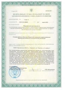 Лицензия на деятельность стр. 3